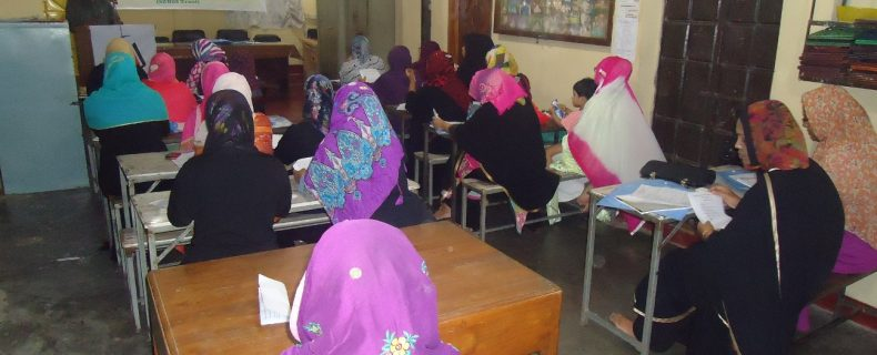 Woman's Masyala Masayel Course (1st day) 9 November 2015