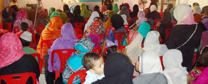 A Function on Woman's Self-Query 'Aqida-e-Ahle Sunnat Wal Jamaat'-24 November 2015